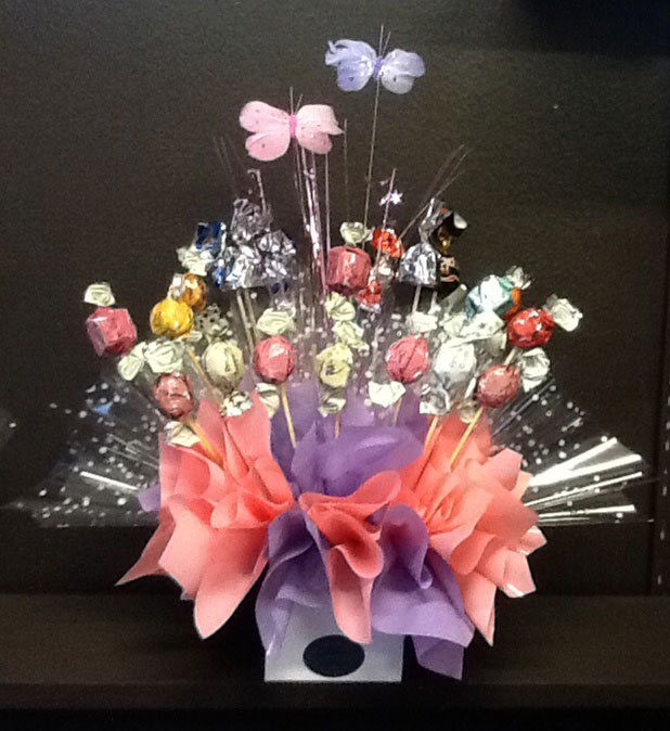 Bouquet chocolates